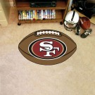 "22"" x 35"" San Francisco 49ers Football Mat"