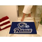 "34"" x 45"" St. Louis Rams All Star Floor Mat"