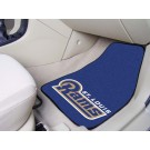 "St. Louis Rams 17"" x 27"" Carpet Auto Floor Mat (Set of 2 Car Mats)"