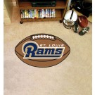 "22"" x 35"" St. Louis Rams Football Mat"