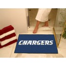 """34"""" x 45"""" San Diego Chargers All Star Floor Mat"""