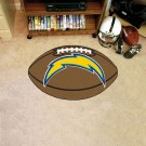 """22"""" x 35"""" San Diego Chargers Football Mat"""