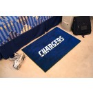 "San Diego Chargers 19"" x 30"" Starter Mat"