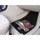 """Tampa Bay Buccaneers 27"""" x 18"""" Auto Floor Mat (Set of 2 Car Mats)"""