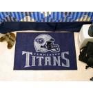 """Tennessee Titans 19"""" x 30"""" Starter Mat"""