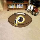 "22"" x 35"" Washington Redskins Football Mat"