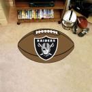 "22"" x 35"" Oakland Raiders Football Mat"