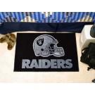"""Oakland Raiders 19"""" x 30"""" Starter Mat"""