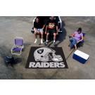 5' x 6' Oakland Raiders Tailgater Mat