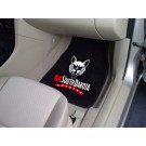 "South Dakota Coyotes 17"" x 27"" Carpet Auto Floor Mat (Set of 2 Car Mats)"