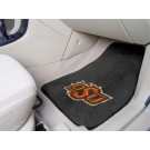 "Oklahoma State Cowboys 17"" x 27"" Carpet Auto Floor Mat (Set of 2 Car Mats)"