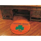 "27"" Round Notre Dame Fighting Irish Basketball Mat"