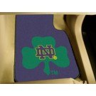 "Notre Dame Fighting Irish 17"" x 27"" Carpet Auto Floor Mat (Set of 2 Car Mat)"