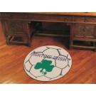 "27"" Round Notre Dame Fighting Irish Soccer Mat"