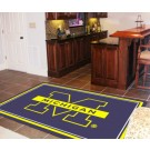 Michigan Wolverines 4' x 6' Area Rug by