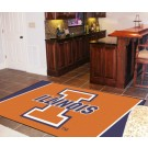 Illinois Fighting Illini 5' x 8' Area Rug