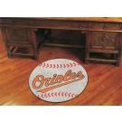"27"" Round Baltimore Orioles Baseball Mat"