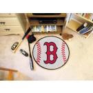 "27"" Round Boston Red Sox Baseball Mat"