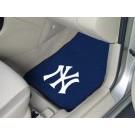 "New York Yankees 17"" x 27"" Carpet Auto Floor Mat (Set of 2 Car Mats)"