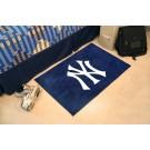 """New York Yankees """"NY"""" 19"""" x 30"""" Starter Mat"""