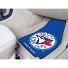 "Toronto Blue Jays 17"" x 27"" Carpet Auto Floor Mat (Set of 2 Car Mats)"
