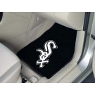 "Chicago White Sox 17"" x 27"" Carpet Auto Floor Mat (Set of 2 Car Mats)"