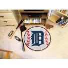 "27"" Round Detroit Tigers Baseball Mat"