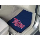 "Minnesota Twins 17"" x 27"" Carpet Auto Floor Mat (Set of 2 Car Mats)"