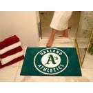 """34"""" x 45"""" Oakland Athletics All Star Floor Mat"""