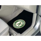 "Oakland Athletics 17"" x 27"" Carpet Auto Floor Mat (Set of 2 Car Mats)"