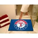 """34"""" x 45"""" Texas Rangers All Star Floor Mat"""