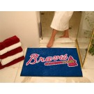 "34"" x 45"" Atlanta Braves All Star Floor Mat"