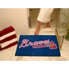"""34"""" x 45"""" Atlanta Braves All Star Floor Mat"""