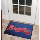 """Atlanta Braves 19"""" x 30"""" Starter Mat"""