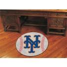 """27"""" Round New York Mets Baseball Mat"""