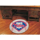 "27"" Round Philadelphia Phillies Baseball Mat"