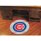 "27"" Round Chicago Cubs Baseball Mat"