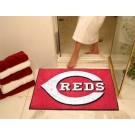 """Cincinnati Reds 34"""" x 45"""" All Star Floor Mat"""