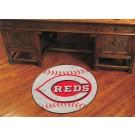 """Cincinnati Reds 27"""" Round Baseball Mat"""