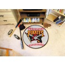 "27"" Round Pittsburgh Pirates Baseball Mat"