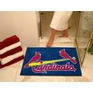 """34"""" x 45"""" St. Louis Cardinals All Star Floor Mat"""
