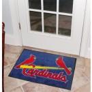 """St. Louis Cardinals 19"""" x 30"""" Starter Mat"""