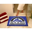 "34"" x 45"" Colorado Rockies All Star Floor Mat"
