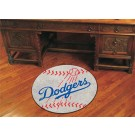"27"" Round Los Angeles Dodgers Baseball Mat"
