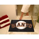 "34"" x 45"" San Francisco Giants All Star Floor Mat"