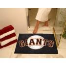"34"" x 45"" San Francisco Giants All Star Floor Mat"