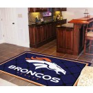 Denver Broncos 5' x 8' Area Rug