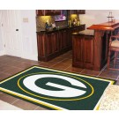 Green Bay Packers 5' x 8' Area Rug