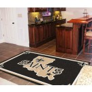 New Orleans Saints 5' x 8' Area Rug by