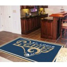 St. Louis Rams 5' x 8' Area Rug